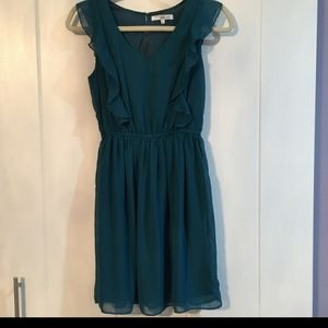 ASOS emerald party dress